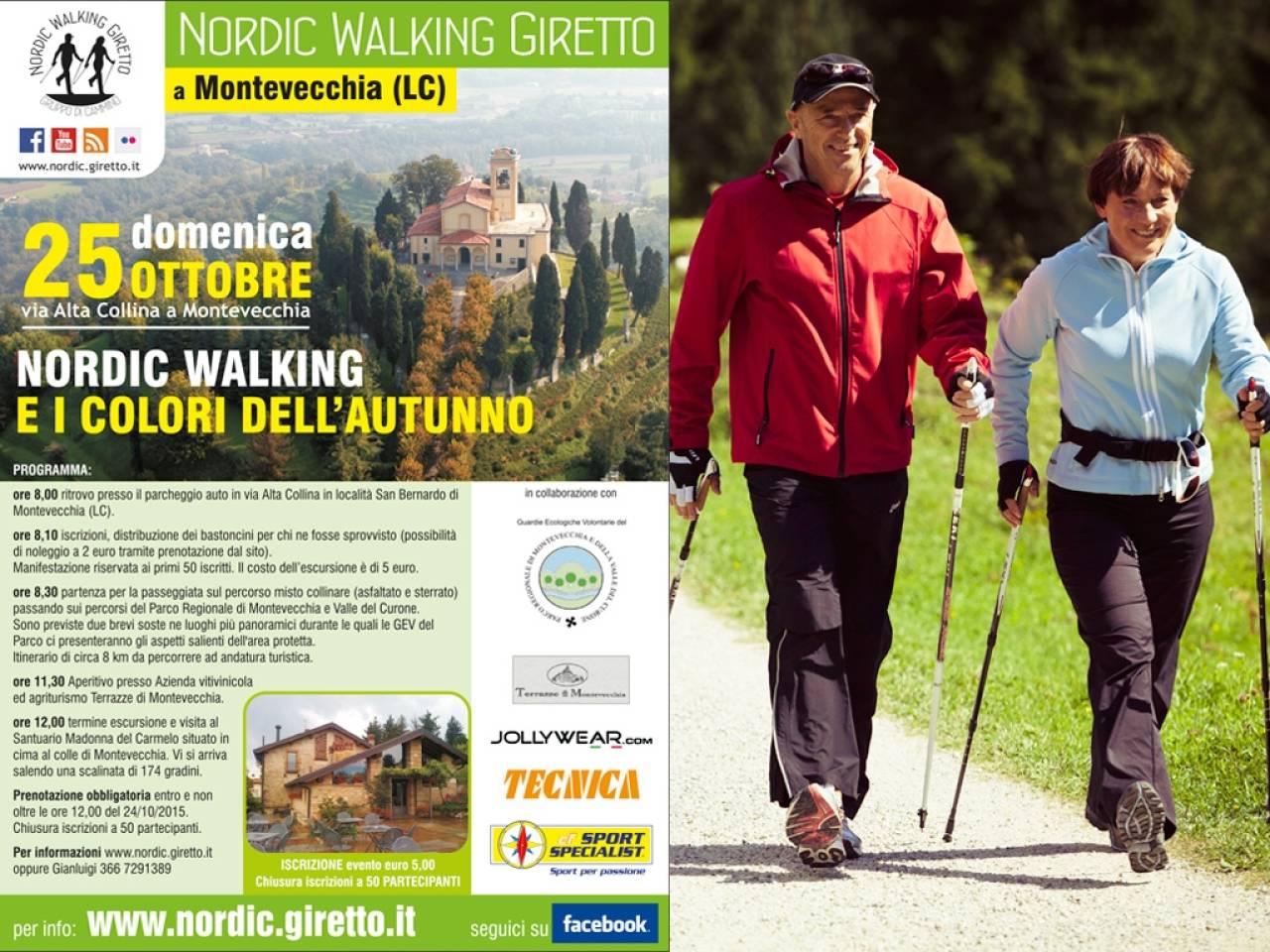 I colori dell\'autunno: Montevecchia 2015 - Nordic Walking
